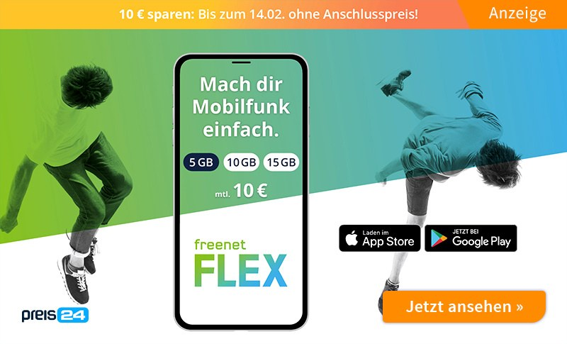Freenet Flex Teaser P24