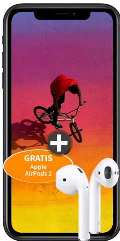 iphone XR airpods 2