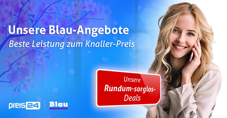Blau Top-Angebot