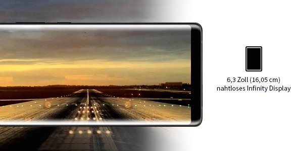 Samsung Galaxy Note 8 - Display