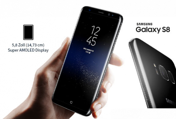Samsung Galaxy S8 - Display