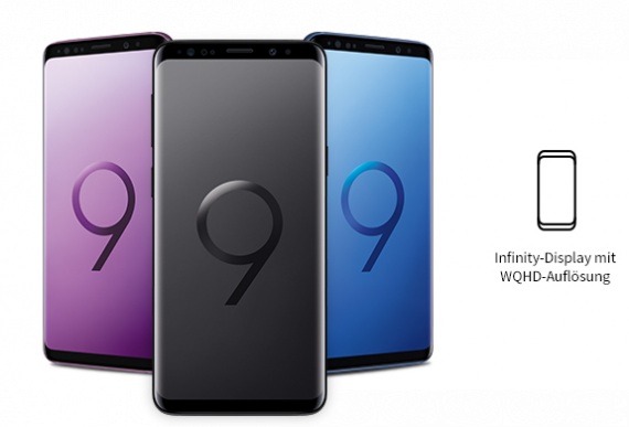 Samsung Galaxy S9 - Display